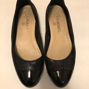 Chanel flats authentic